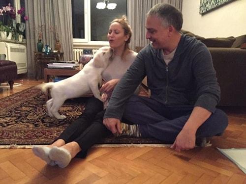 beyaz labrador yavrumuz